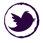 Find us on twitter logo